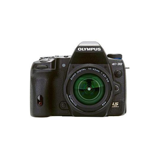Olympus E-30 with EZ 14-42mm lens
