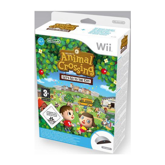 Animal Crossing: Lets Go To The City (Includes Wii Speak)