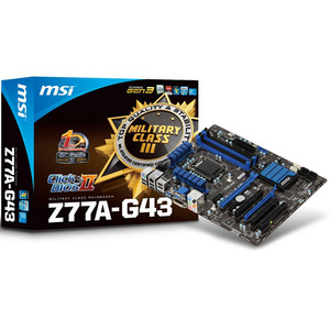 Photo of MSI Z77A-G43  Motherboard