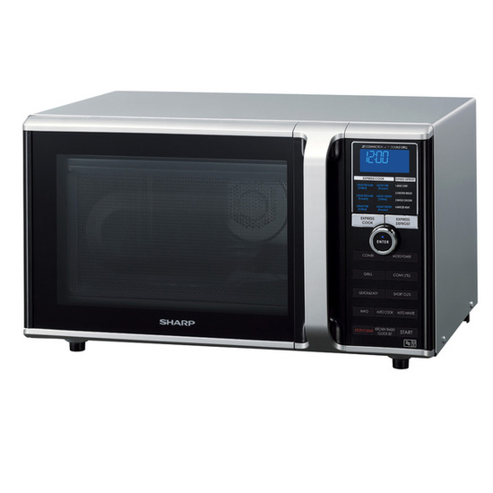 Sharp R890SLM Combination Microwave - Silver