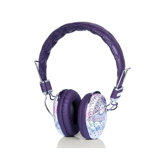 REID&HEATH Couture Vintage SA-700 Headphones - Purple & White
