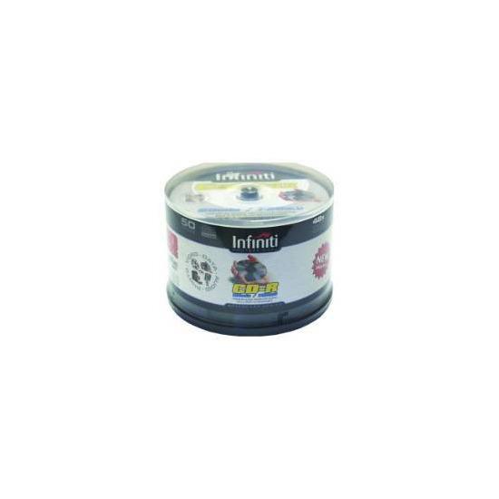 Infiniti. CD-R WhiteTop. 52x 80min 50 Spindle