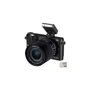 Photo of Samsung NX210 With 18-55MM Lens Digital Camera