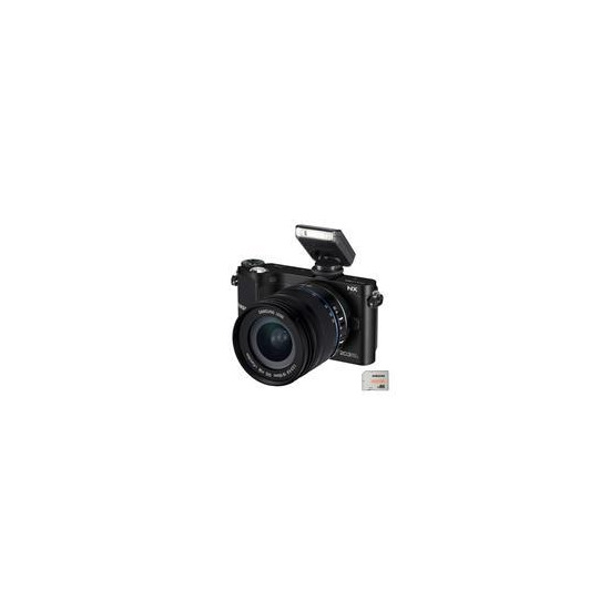 Samsung NX210 with 18-55mm lens
