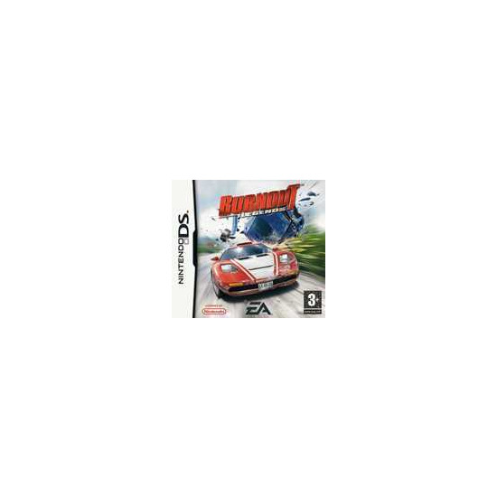 NINTENDO BURNOUTLE GNDS DS