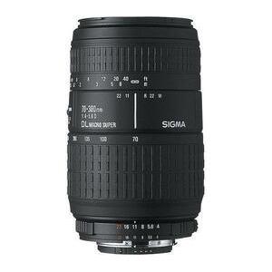 Photo of Sigma AF 70-300MM F4-5.6 DG APO Macro (Canon) Lens