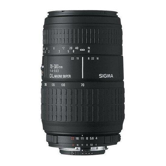 Sigma AF 70-300mm f4-5.6 DG APO Macro (Canon)