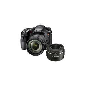 Photo of Sony A77 With Twin Lens Bundle Digital Camera