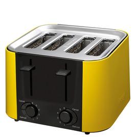 PRESTIGE Daytona 56662 4-Slice Toaster - Yellow Reviews