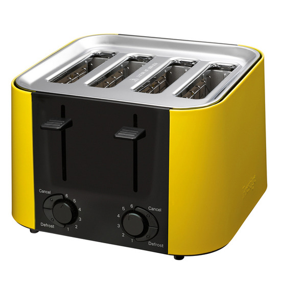 PRESTIGE Daytona 56662 4-Slice Toaster - Yellow