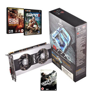 Photo of XFX Radeon HD 7770 Double D 1GB GDDR5  Graphics Card