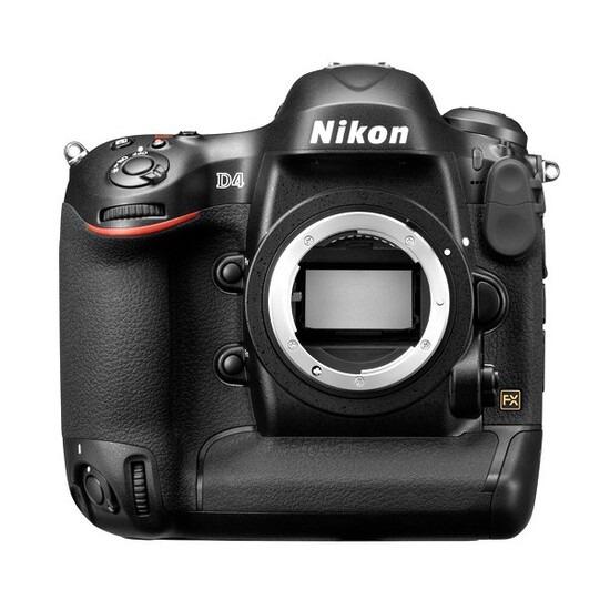 Nikon D4 DSLR Camera Body Only