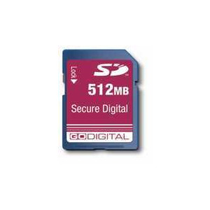 Photo of Gold SECURE DIGIT Memory Card