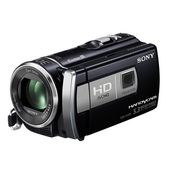 Sony HDR-PJ200E HD Camcorder with Projector