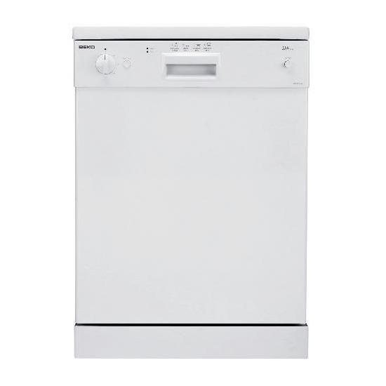 Beko DE6340W White Dishwasher