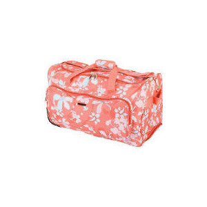 Photo of Cosmopolitian Floral Wheeled Trolley Bag Luggage