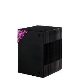 20 Pack of Single Slim DVD boxes, black Reviews