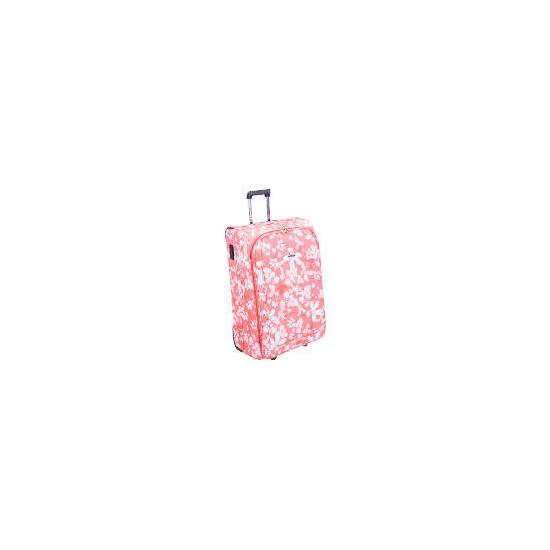 Cosmopolitian Floral Trolley case large