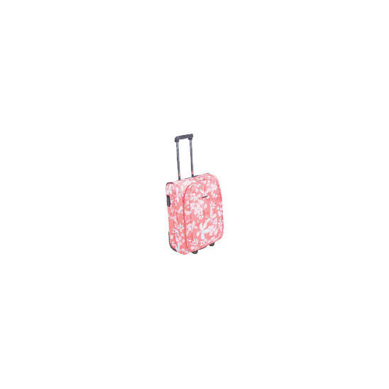 Cosmopolitian Floral Trolley case small