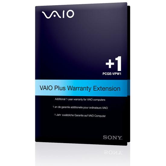 Sony VAIO Warranty Ext/1Yr Onsite