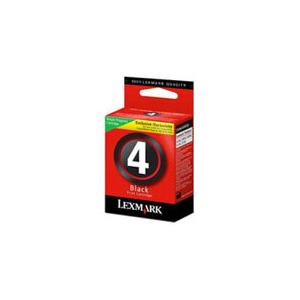 Photo of Lexmark Black No 4 Cartridge Ink Cartridge