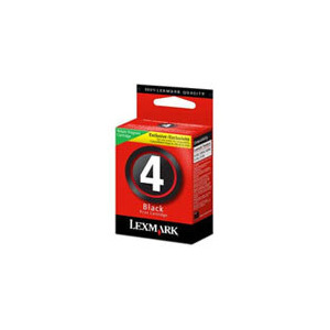 Photo of Lexmark Black No 4 Cartridge Ink Cartridge