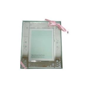 Photo of Tesco Mirrored Floral Frame 15X20CM Home Miscellaneou