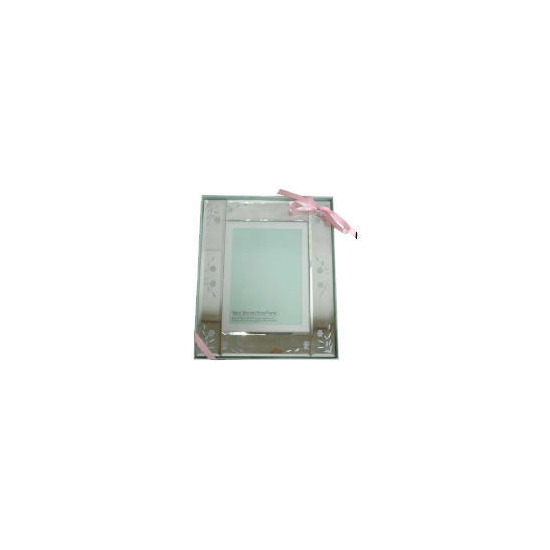 Tesco Mirrored Floral Frame 15x20cm