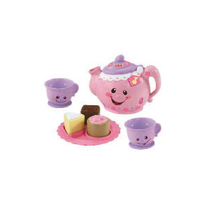 Photo of Fisher Price Laugh and Learn Say Please Tea Set Toy