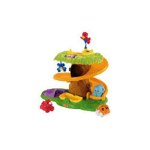 Photo of Fisher Price Amazing Animals Rollin Around Treehouse Toy