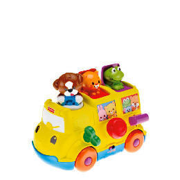 Fisher Price Musical Pop Up Bus Reviews