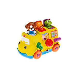 Photo of Fisher Price Musical Pop Up Bus Toy