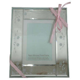 Tesco Mirrored Floral Frame 13x18cm Reviews