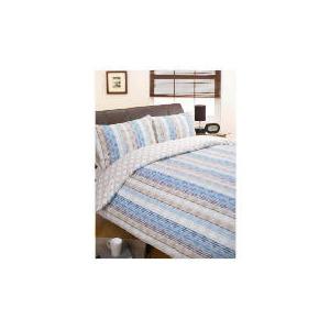 Photo of Bedcrest Duvet Set Stripe, Double Bed Linen