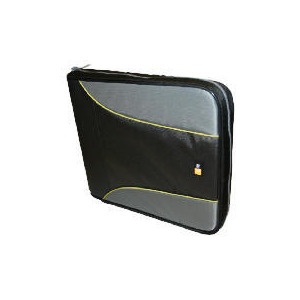 Photo of Case Logic 144 Black and Yellow CD Wallet CD and DVD Storage
