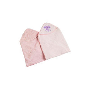 Photo of TESCO MY BABY'S 2 PK Emb Cuddle Robes Pink Baby Product