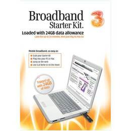 3 Mobile broadband - 24GB Starter Reviews
