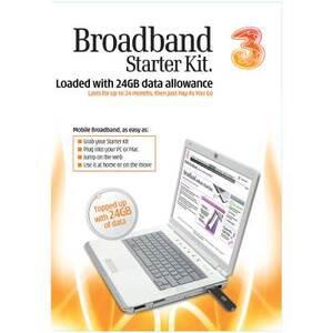 Photo of 3 Mobile Broadband - 24GB Starter Broadband Adapter