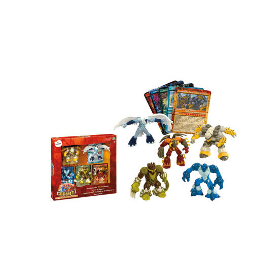Gormiti Series 2 - Lords of the Tribe Set