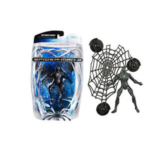 Photo of Spider-Man 3 - Limited Edition Spider-Man With Wall-Hanging Web! Toy