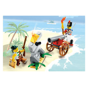 Photo of Lego Pirates - Cannon Battle 6239 Toy
