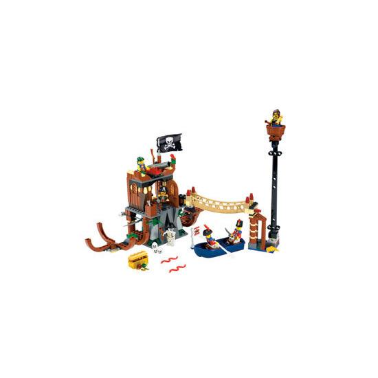 Lego Pirates - Shipwreck Hideout 6253