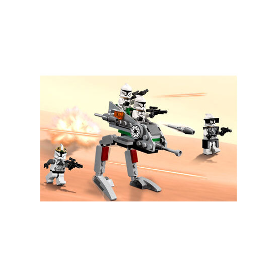 Lego Star Wars Clone Walker Battle Pack 8014 Reviews Compare
