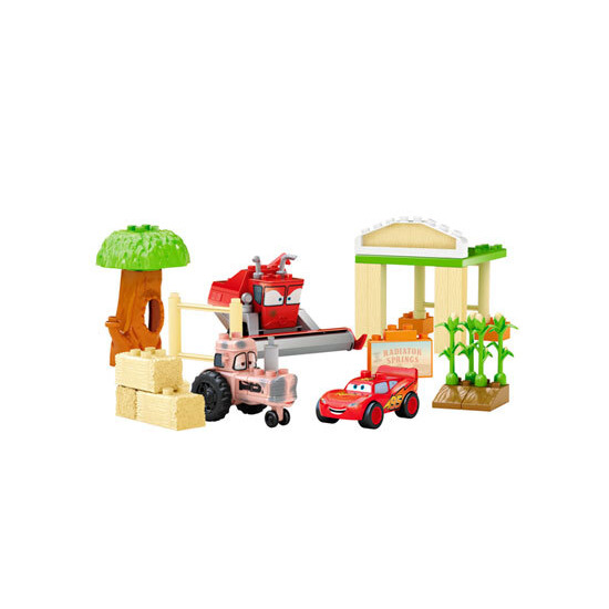 Mega Bloks - Cars Tipping Tractor