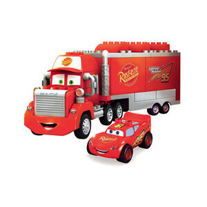 Photo of Mega Bloks - Cars Mack & MCQUEEN Toy