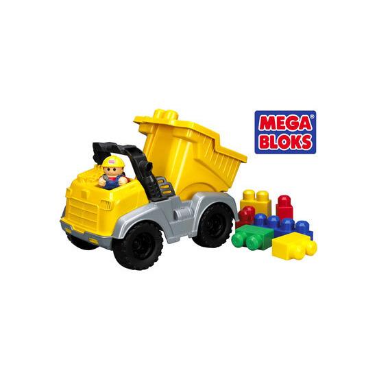 Mega Bloks Li'l Vehicles - Li'l Dump Truck