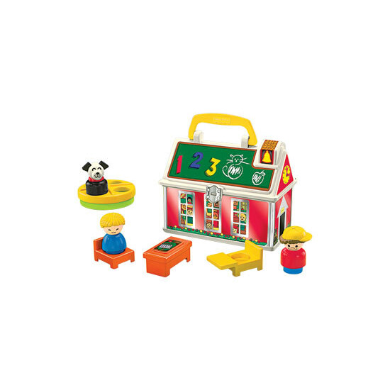 Fisher Price Little People 50th Birthday Set - Play n Go School