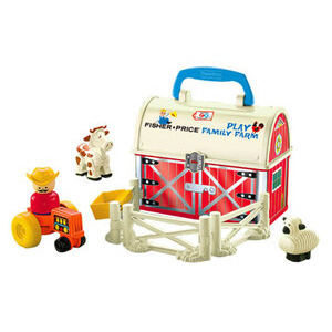 Photo of Fisher Price Little People 50TH Birthday Set - Play N Go Farm Toy