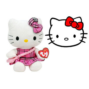 Photo of Ty Beanie - Hello Kitty Tartan Toy