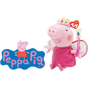 Photo of Ty Beanie - Peppa Pig Princess Toy